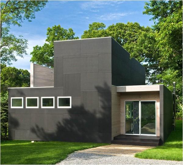 riverfront home plan modern lofty interior