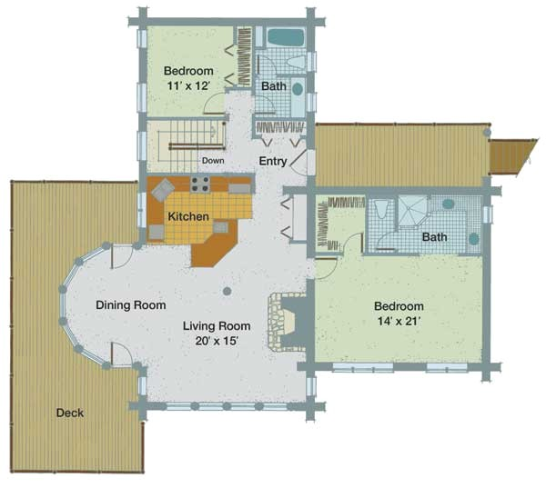 bluff house plan