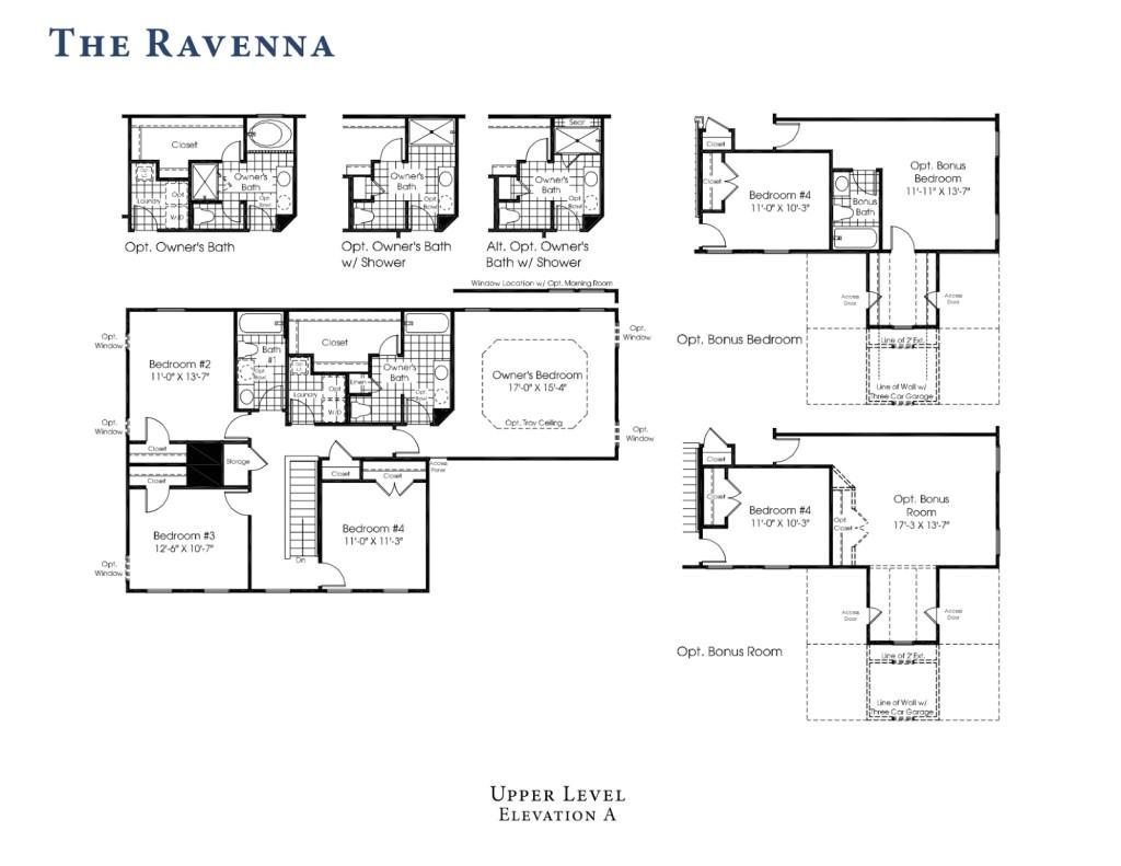 rome floor plan ryan homes