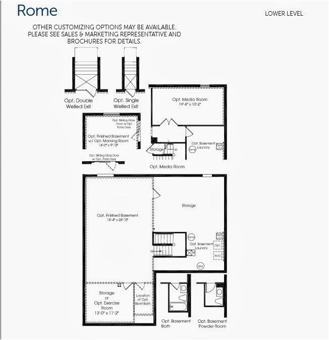 rome ryan homes floor plan luxury normal layout awesome ryan homes rome floor plan 6