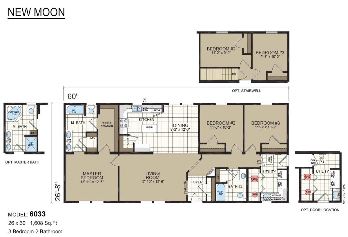 Rona Homes Floor Plans New Moon Modular 6033 by Rona Homes