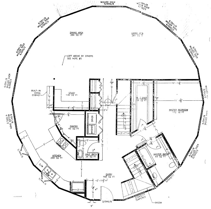 round home plans