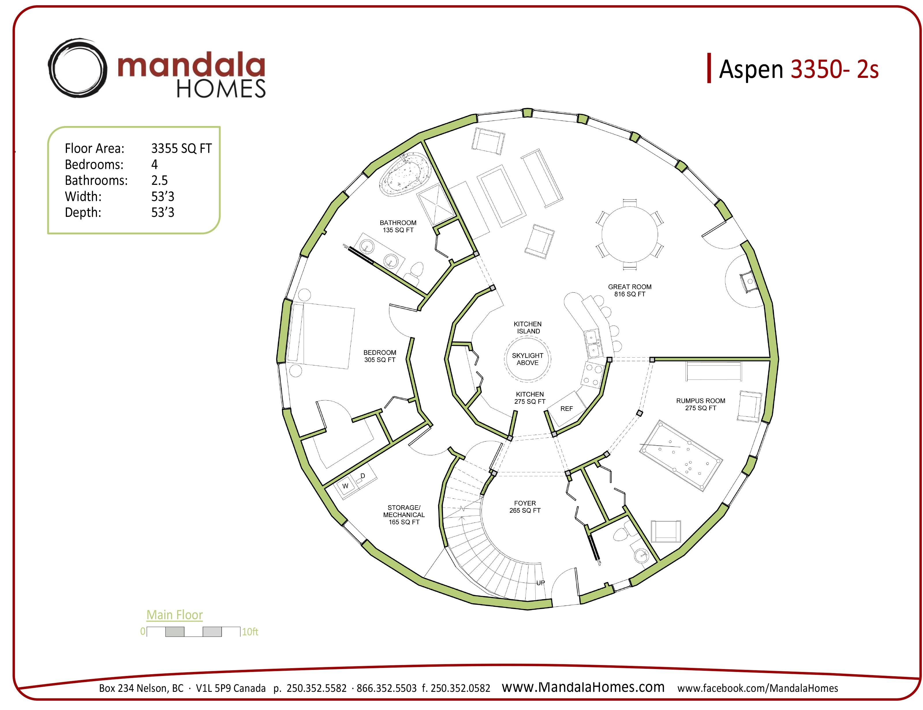 aspen series floor plans mandala homes prefab round 6