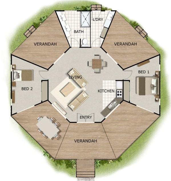 170kr 2bedroom house plans