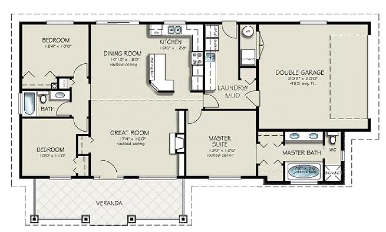 4 bedroom rtm house plans