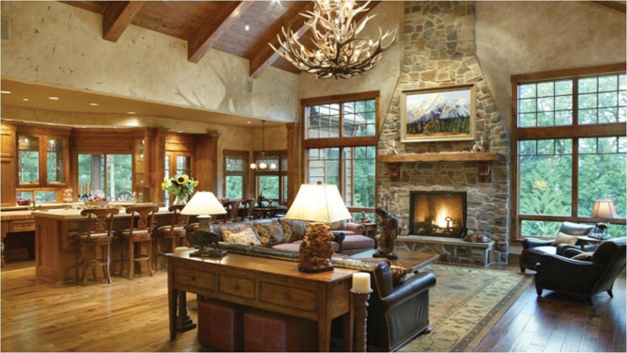 Rustic Home Designs with Open Floor Plan Unique Open Floor Plans Rustic Open Floor Plans for Ranch