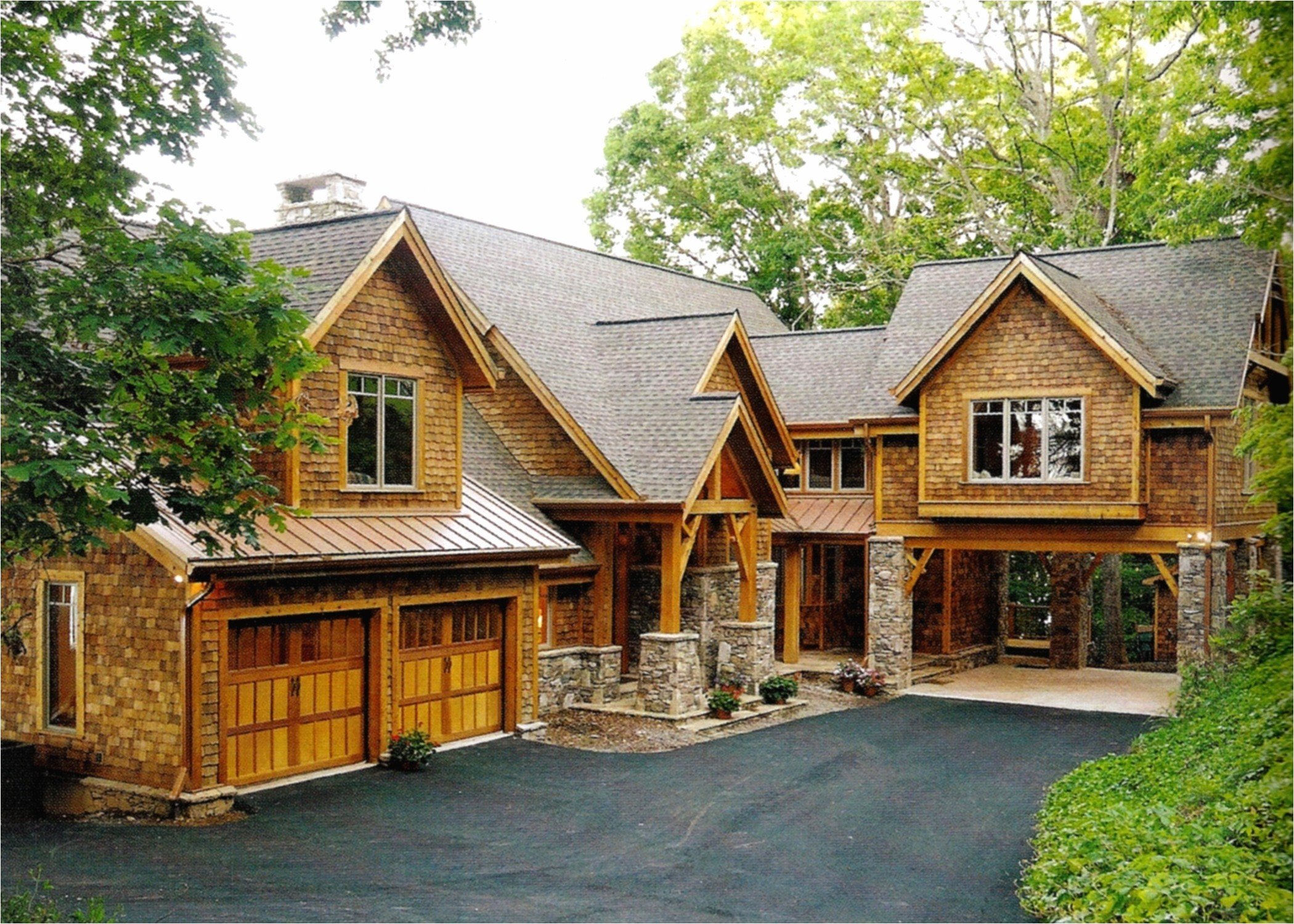 rustic home plans with walkout basement for sale