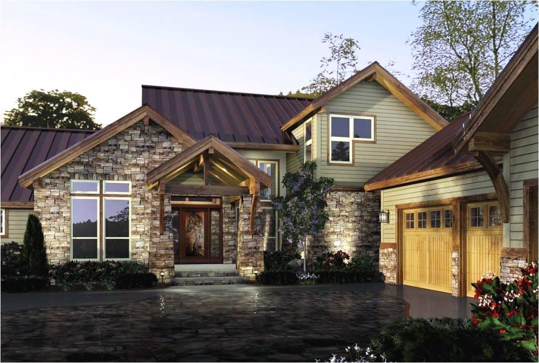 rustic modern home plans