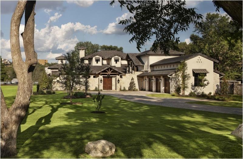texas rustic stone house plans