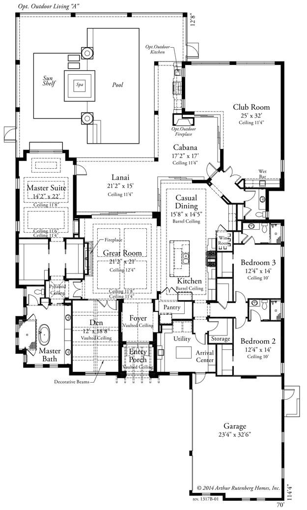 arthur rutenberg house plans