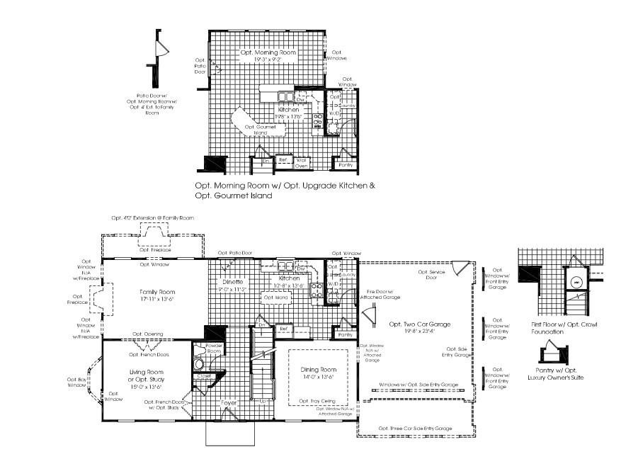 carolina place by ryan homes at spring creek house ryan homes jefferson square floor plan
