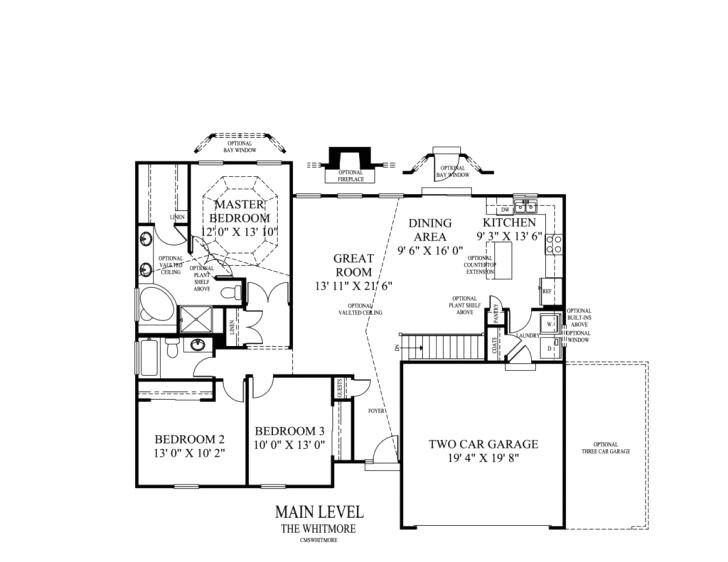 ryan home floor plans jefferson