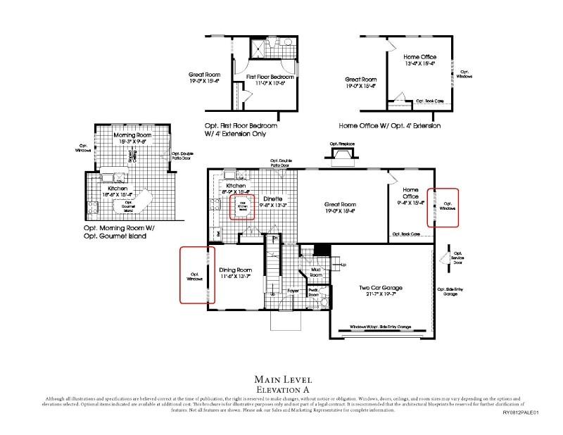 ryan home floor plans based on your need