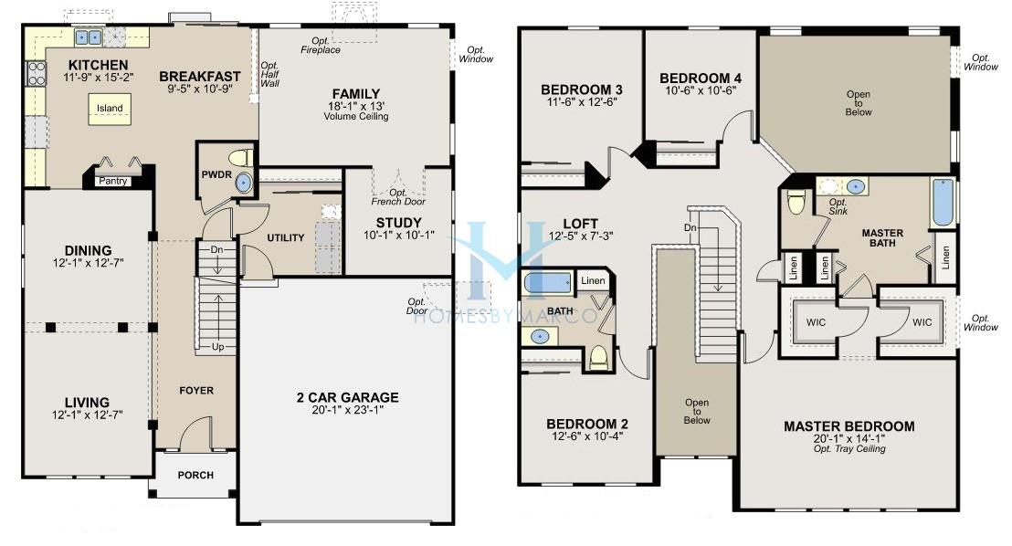 ryland home plans