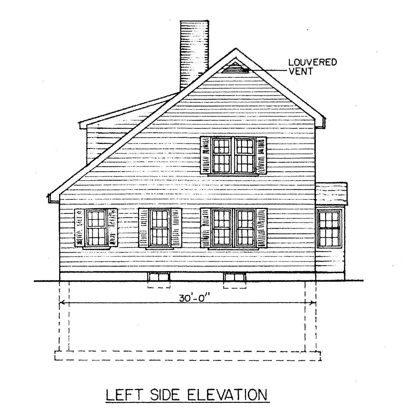 saltbox house plans with 4 bedrooms 7021