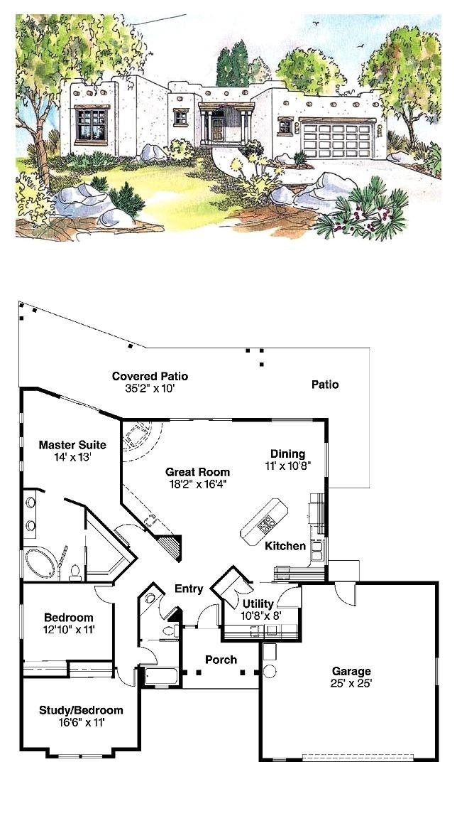santa fe home plans