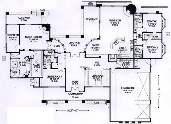 santa fe house plans