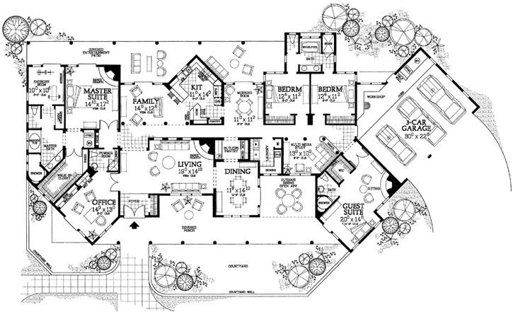 santa fe house designs