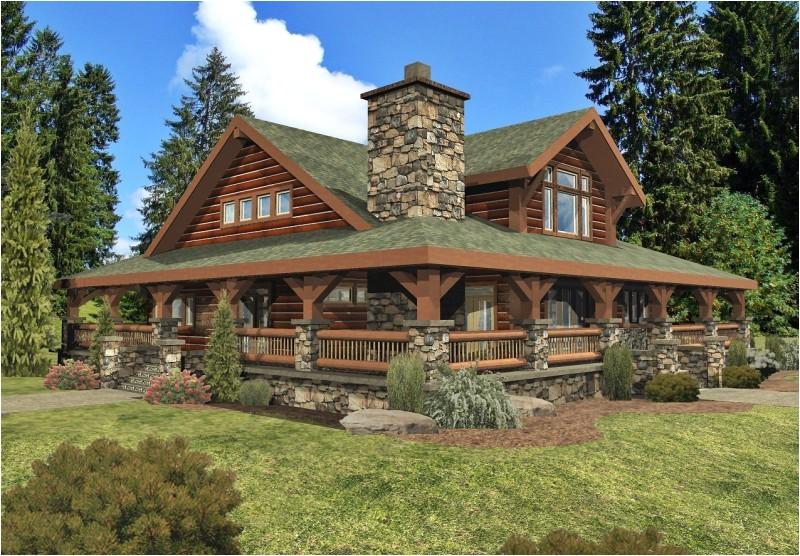 satterwhite log home floor plans