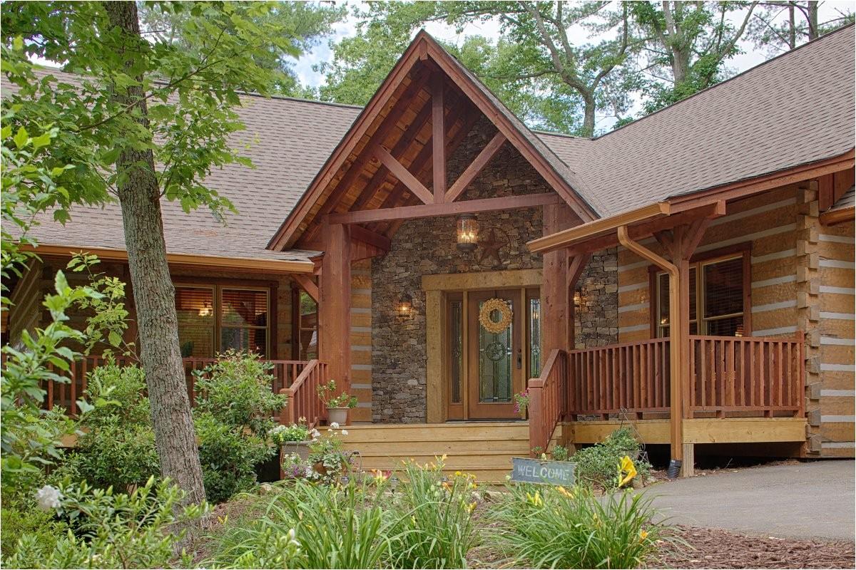 satterwhite log homes plans