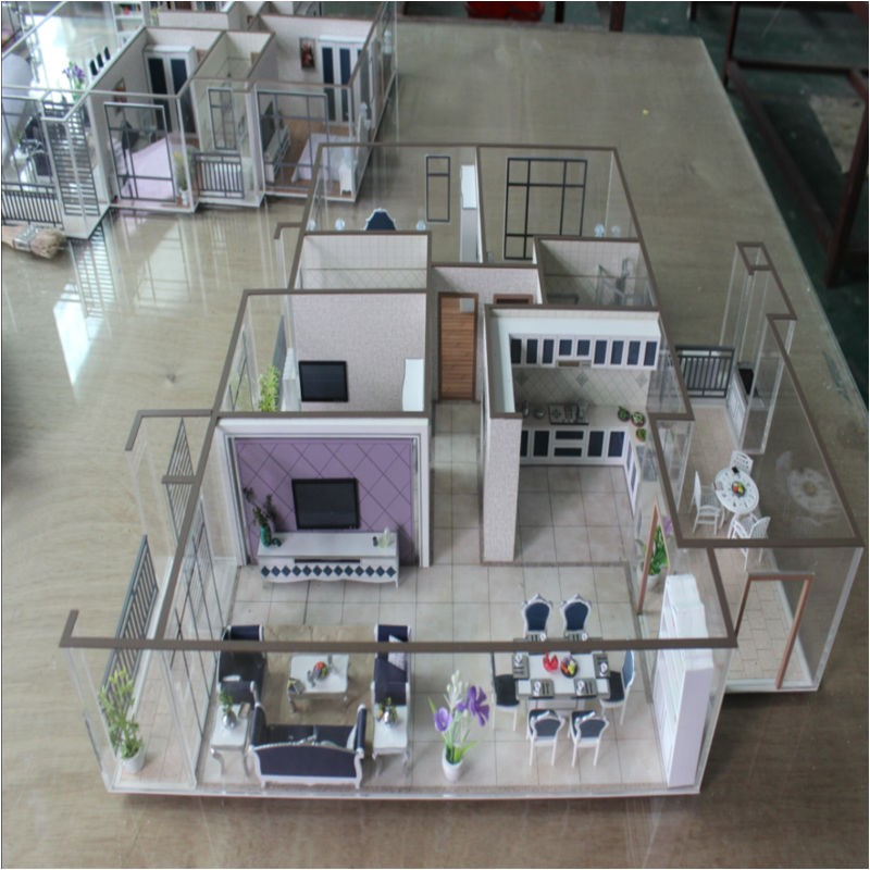 scale model house plans