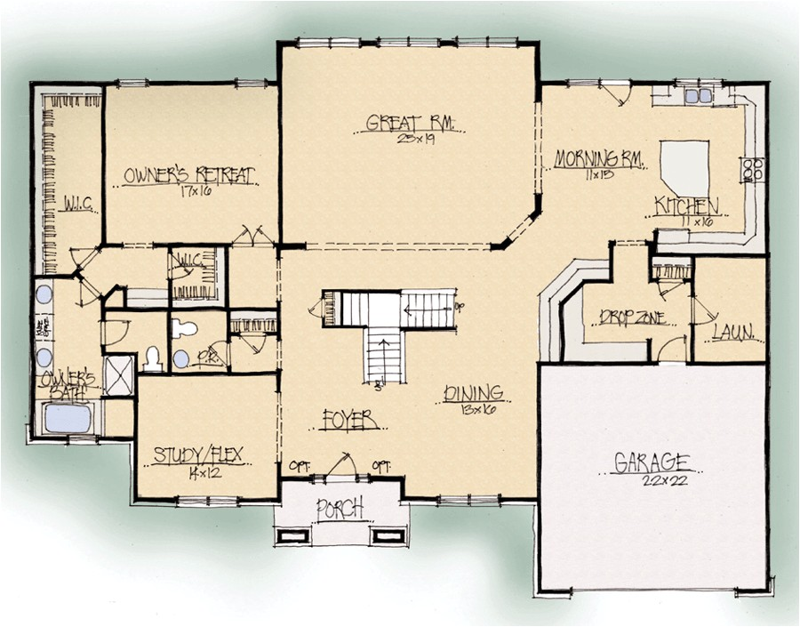 schumacher home plans