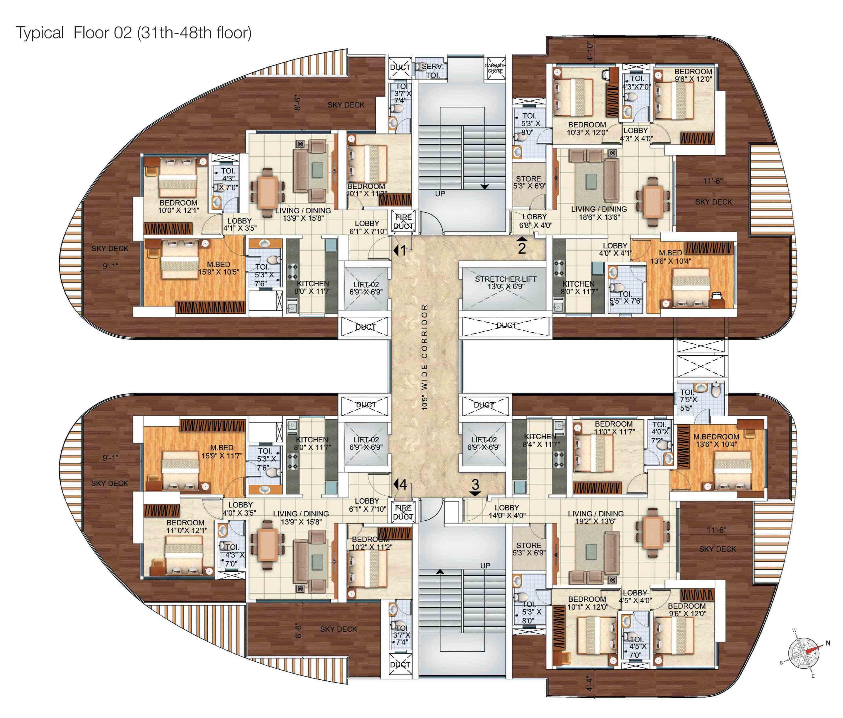 luxury floor plans for homes