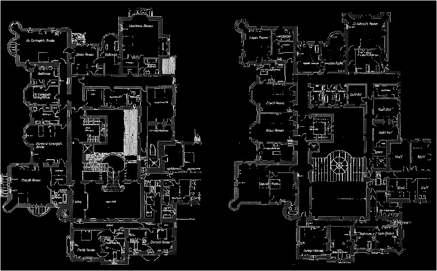 glamis castle floor plan