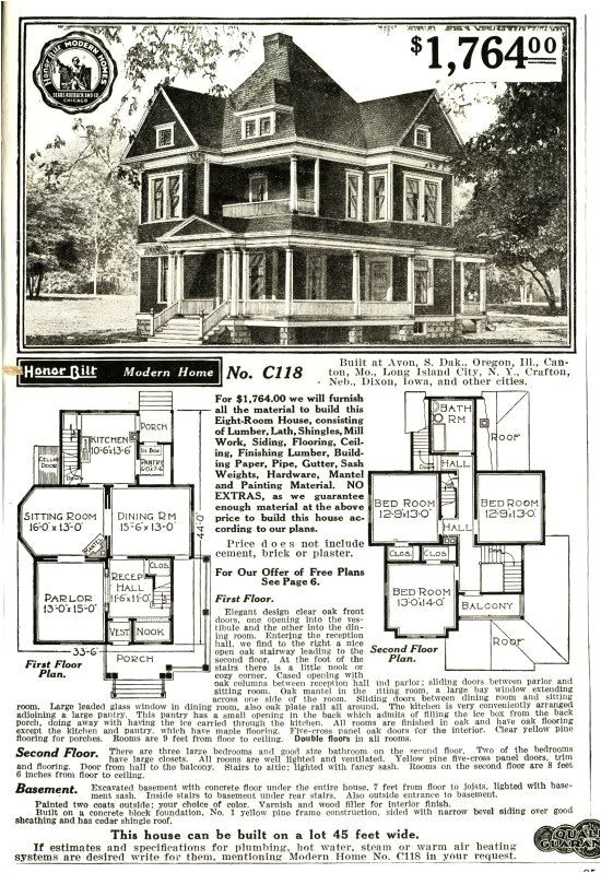 Sears Modern Home Plans the Sears Modern Home 118 for the Home Pinterest