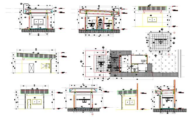 Security Guard House Plans Guard House Design Plan Security Guard House Design