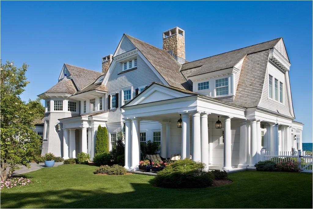 characteristics of shingle style house plans