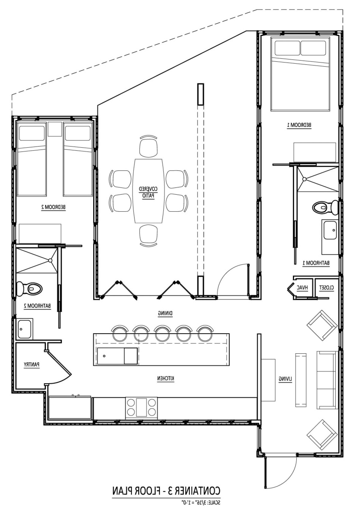 free shipping container house plans