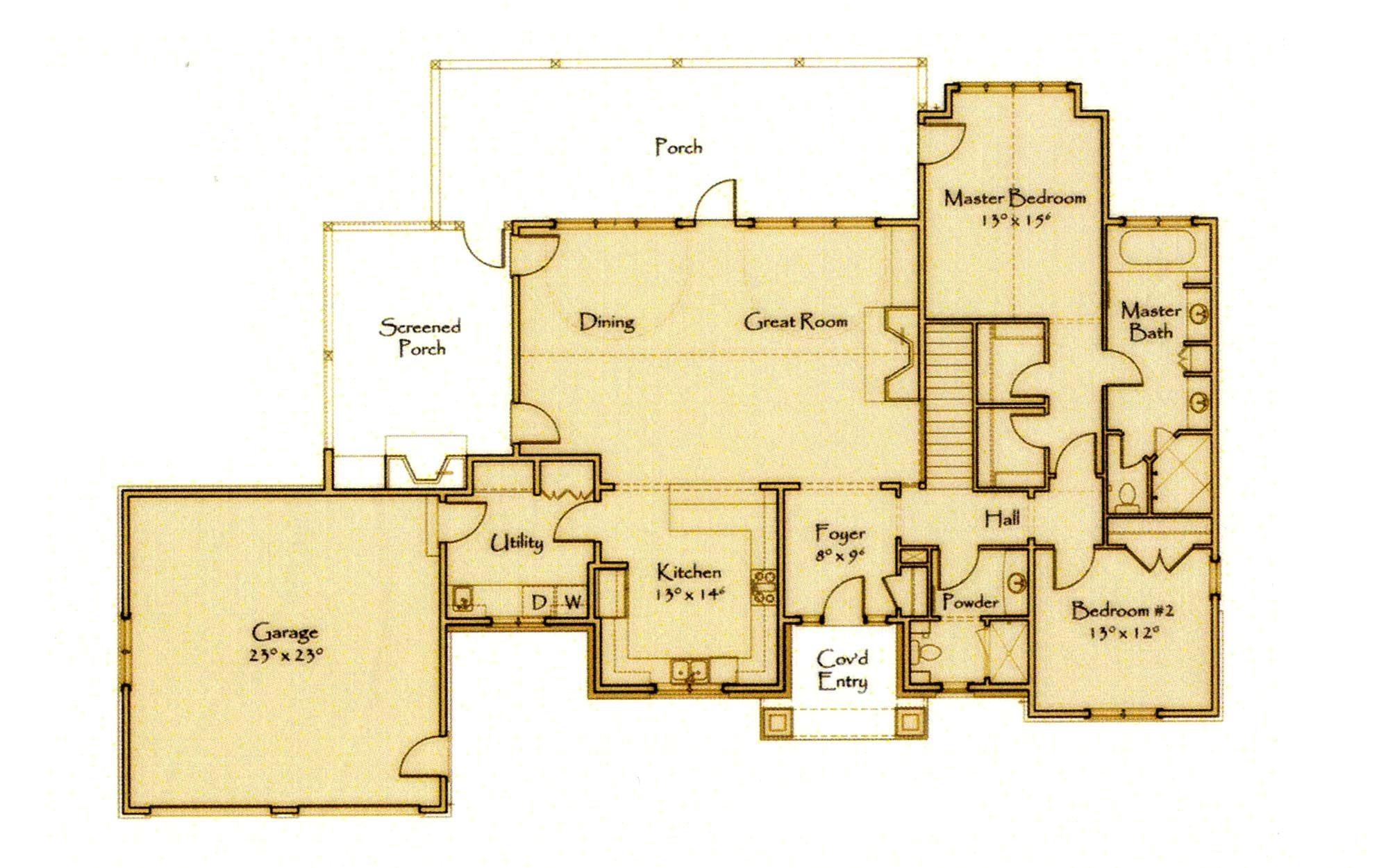 Signature Home Plans Open Floor Plans Search Thousands Of House Yellow Can Arafen