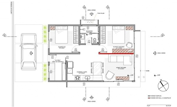 Simple Box House Plans A Small Simple and sophisticated Rectangular Box House