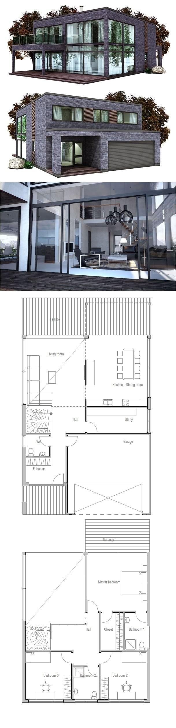 simple box house plans