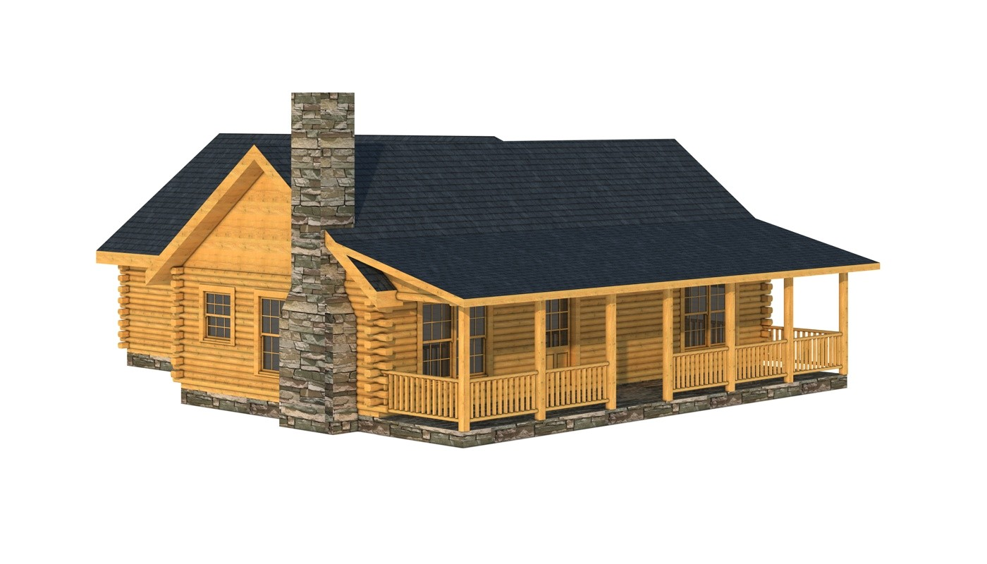 cozy cabins small log home plans build your dream