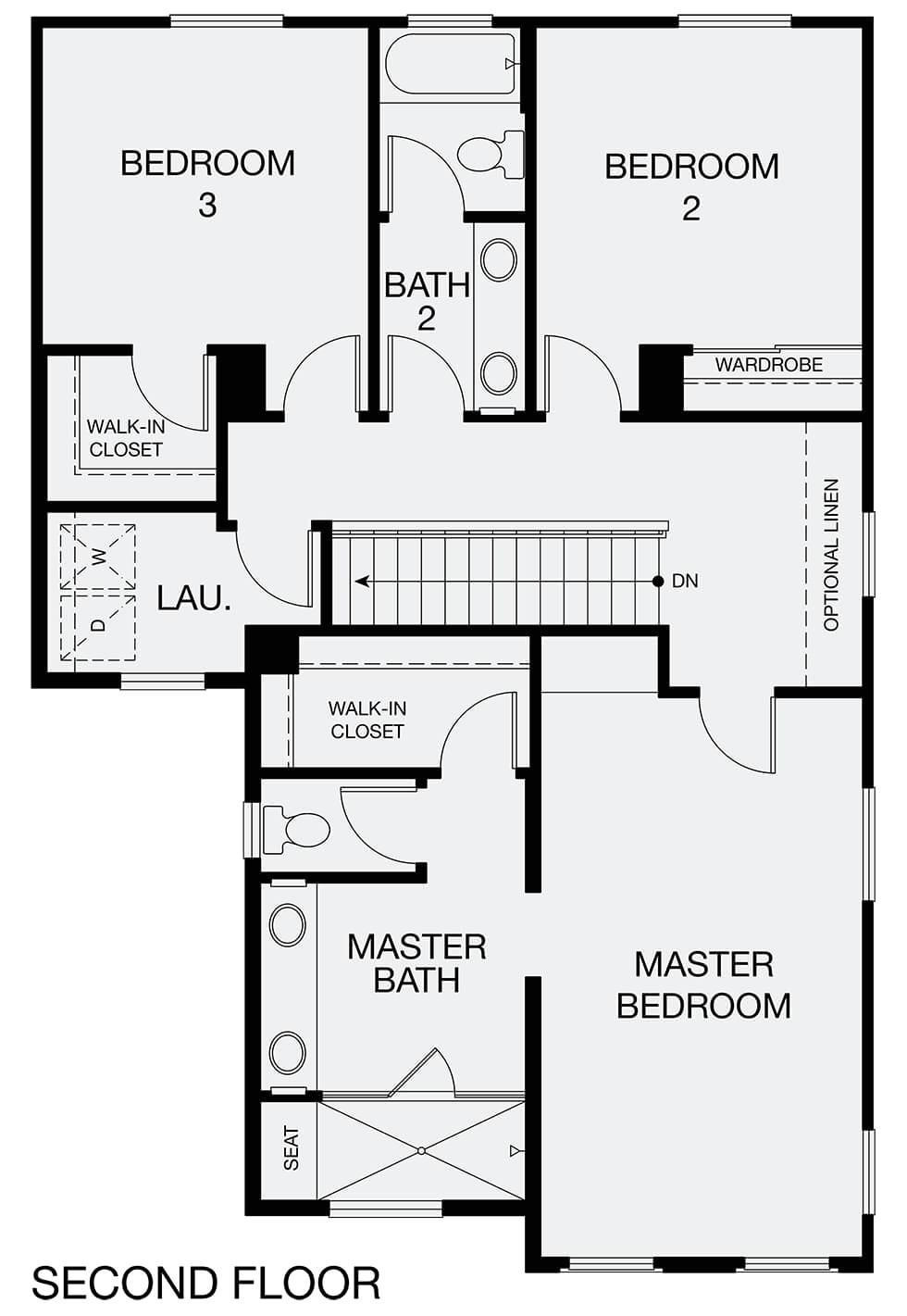 simple open floor plans