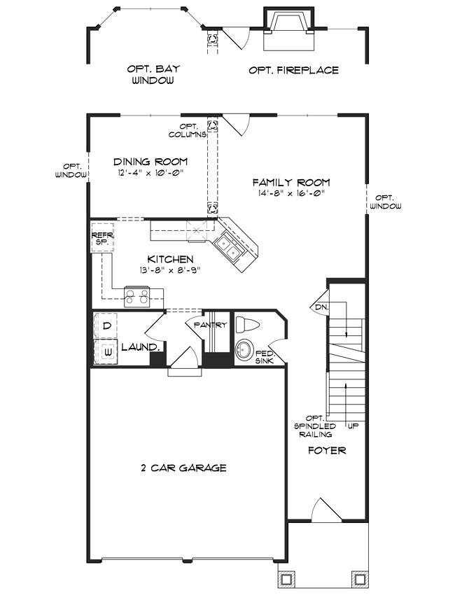 impressive single family home plans 8 single family home floor plans