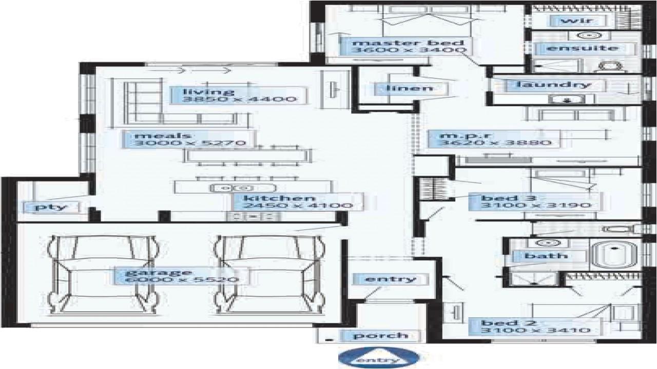 9a20081190fcae46 modern single story home designs single storey house floor plans