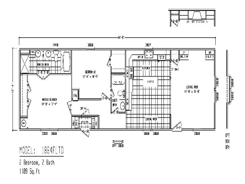 single wide mobile home floor plans inspiratition