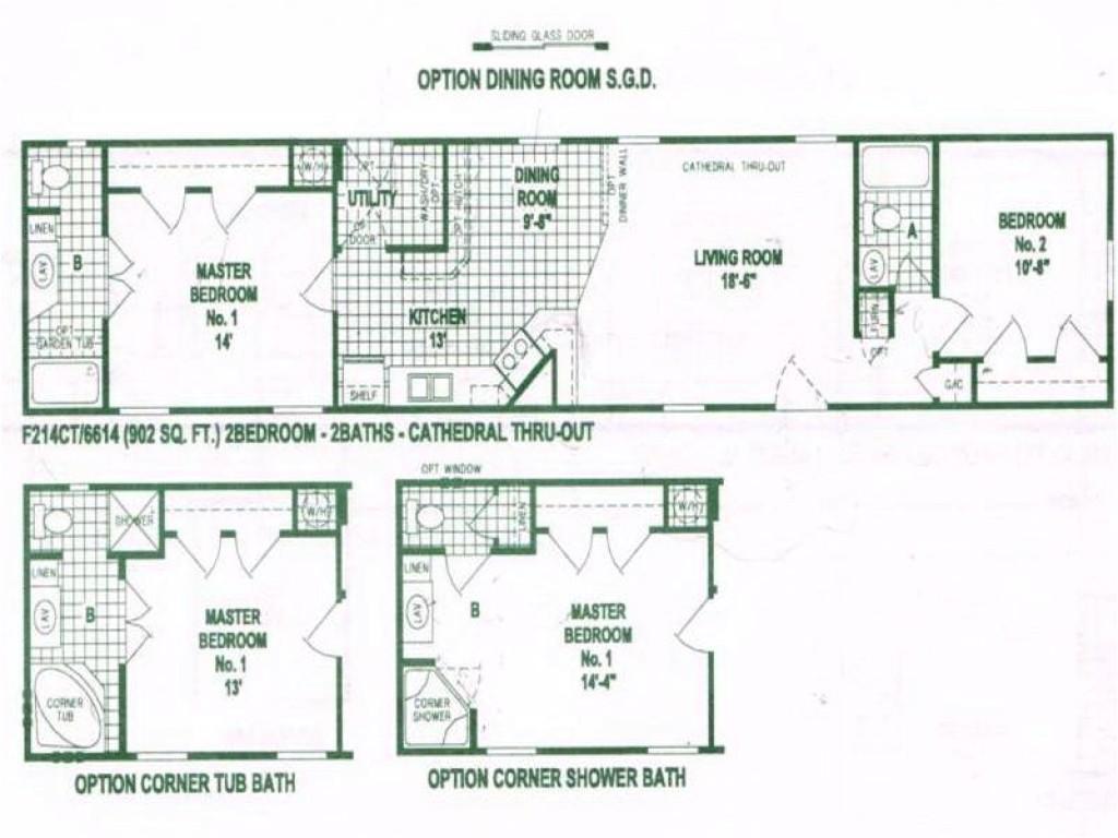 05ae95c051b89eae single wide mobile home floor plans used single wide mobile homes