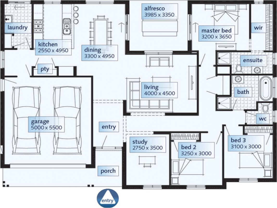 4b06ab048a5d5d1c single story house floor plans single floor house plans large rooms