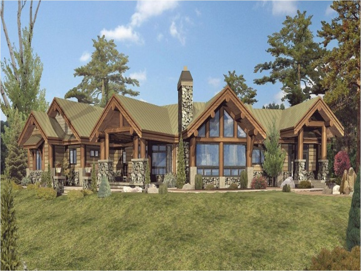 bc877e4297402ab9 large one story log home floor plans single story log home designs