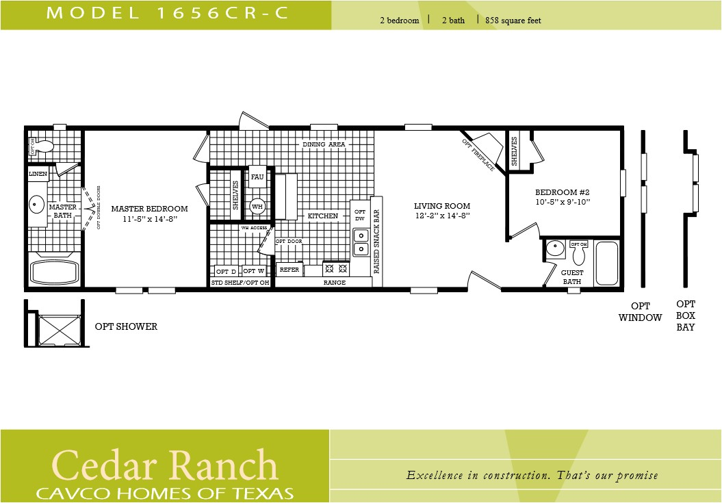 cavco homes floor plans lovely cavco homes floor plan bedroom bath single wide kaf mobile homes