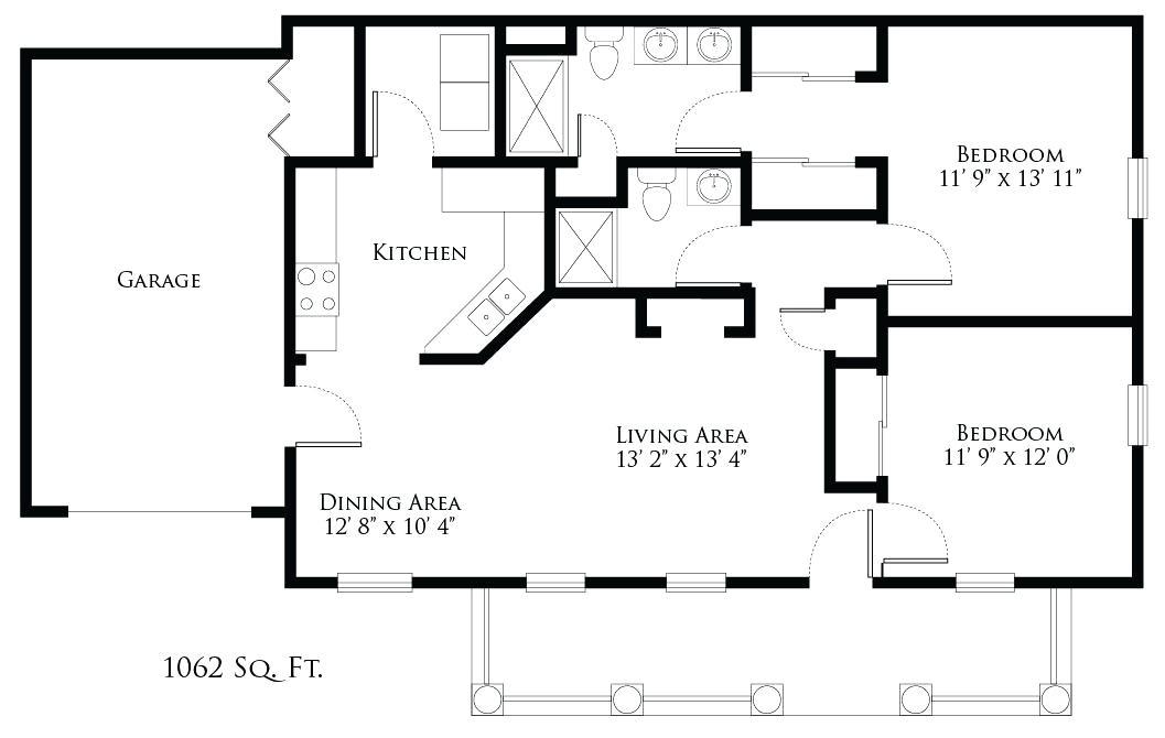 garden home house plans