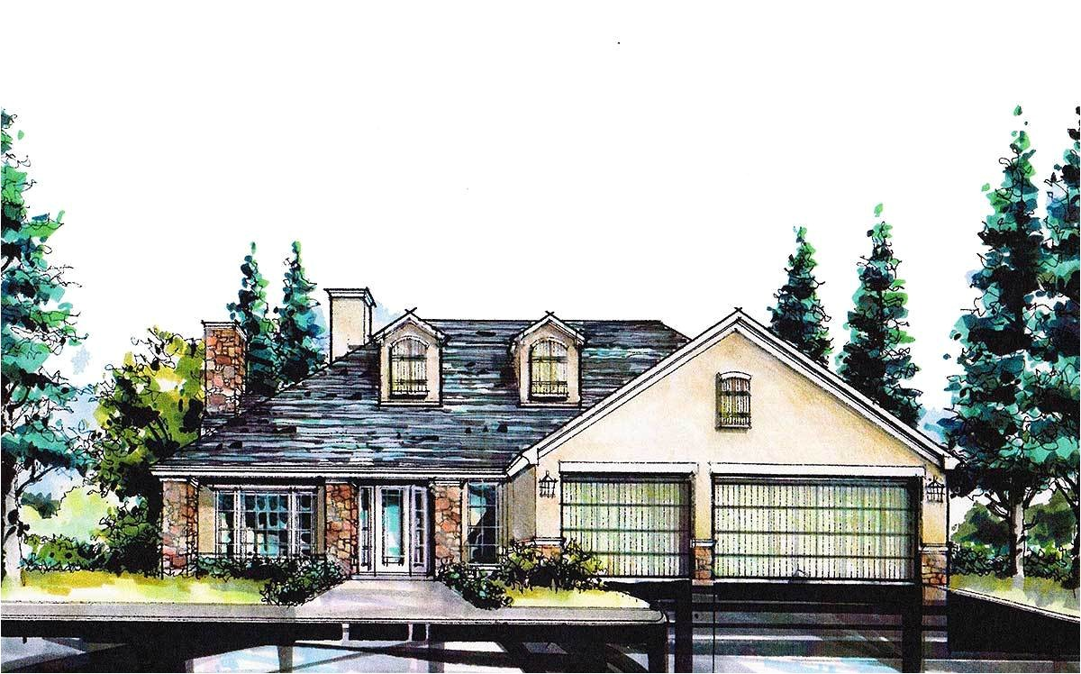 4 bed hill country home for a sloping lot 36445tx