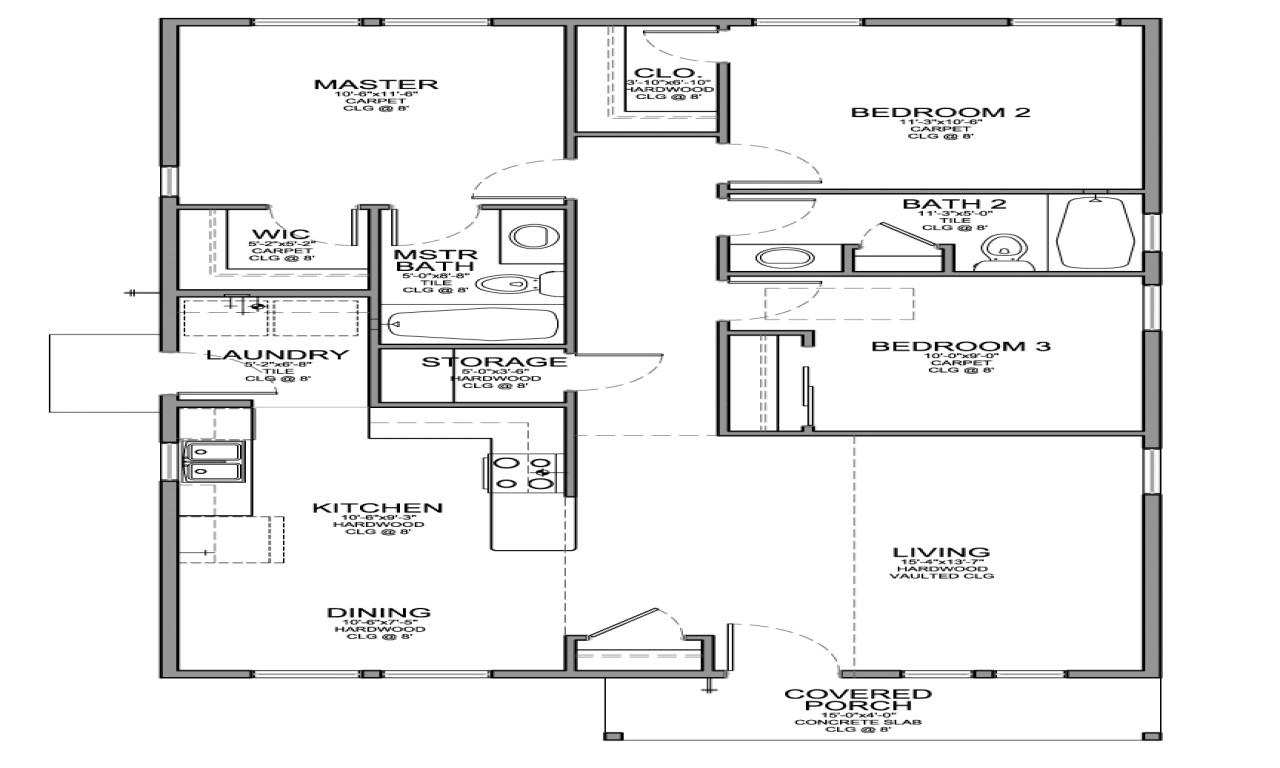 ef2509378ca106d6 small 3 bedroom floor plans small 3 bedroom house floor plans