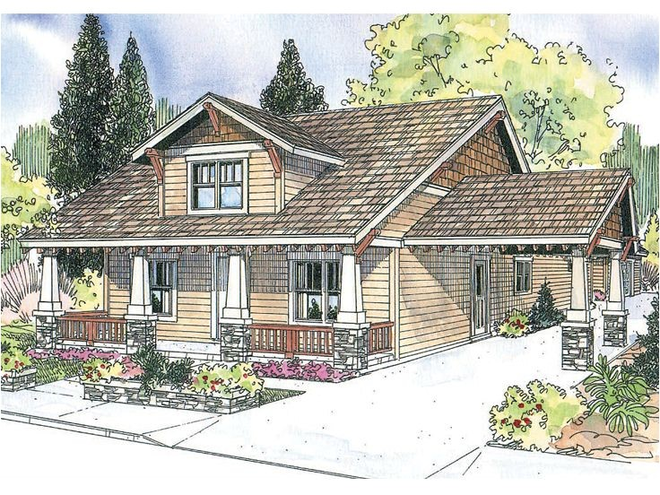 Small Arts and Crafts Home Plans Plan 051h 0142 Find Unique House Plans Home Plans and