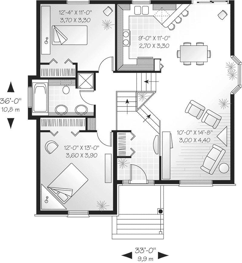 tri level house plans 1970s