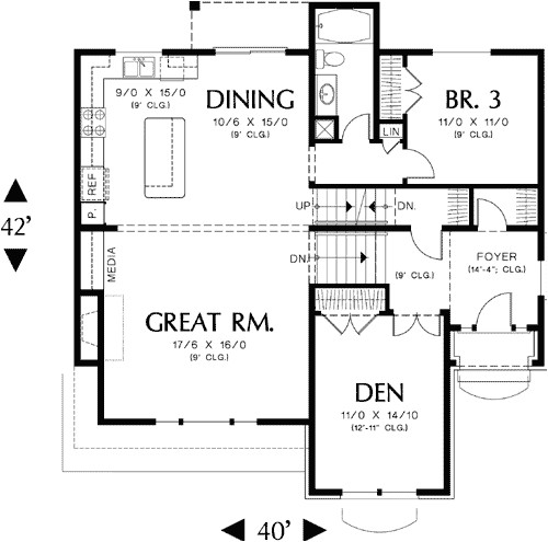 small bi level house plans